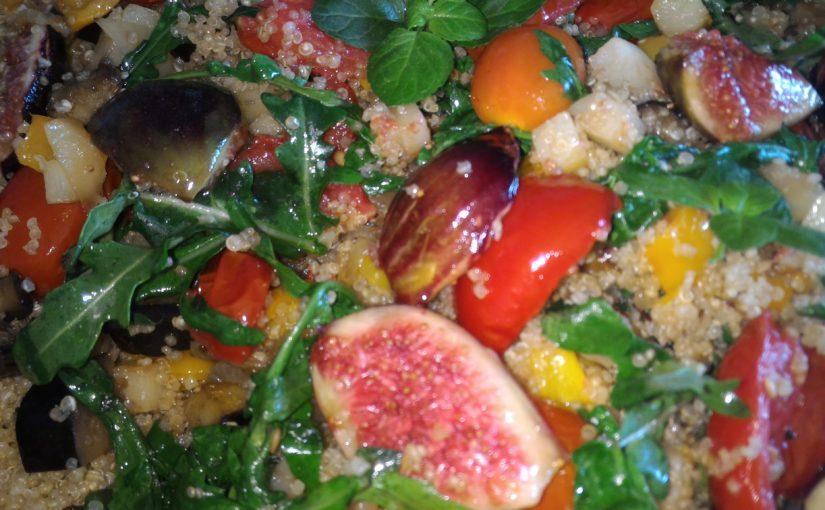 Insalata di Quinoa & Fichi