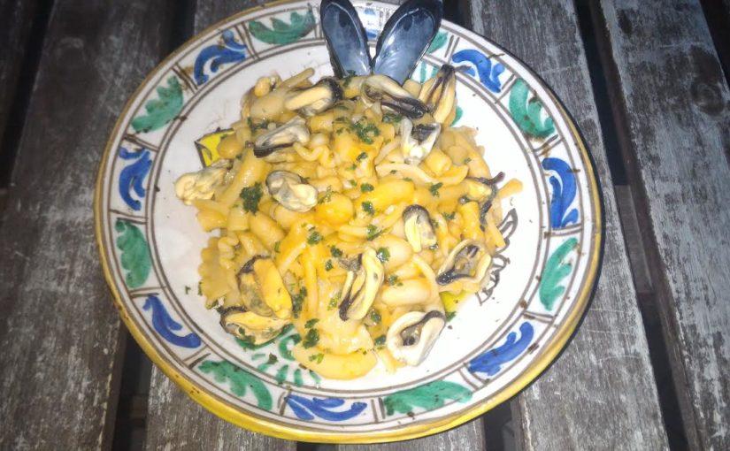 Pasta & Fagioli con le Cozze