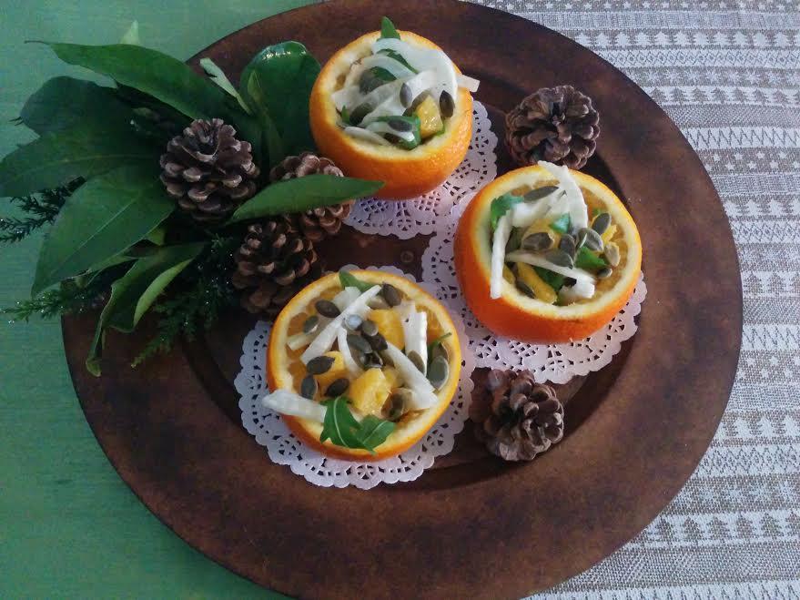 Insalata di finocchi & arance
