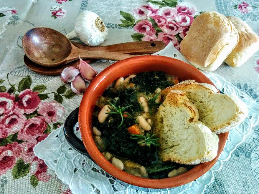 Zuppa con il cavolo nero