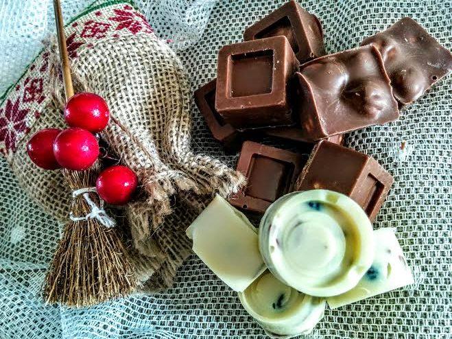 Cioccolatini homemade per la calza della Befana