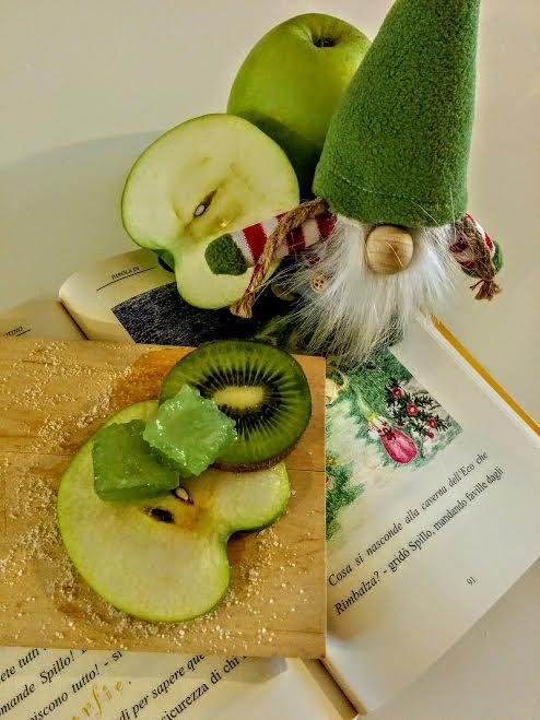 Caramelle alla mela verde & kiwi