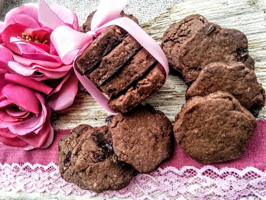 Biscotti vegan…miglio & carruba