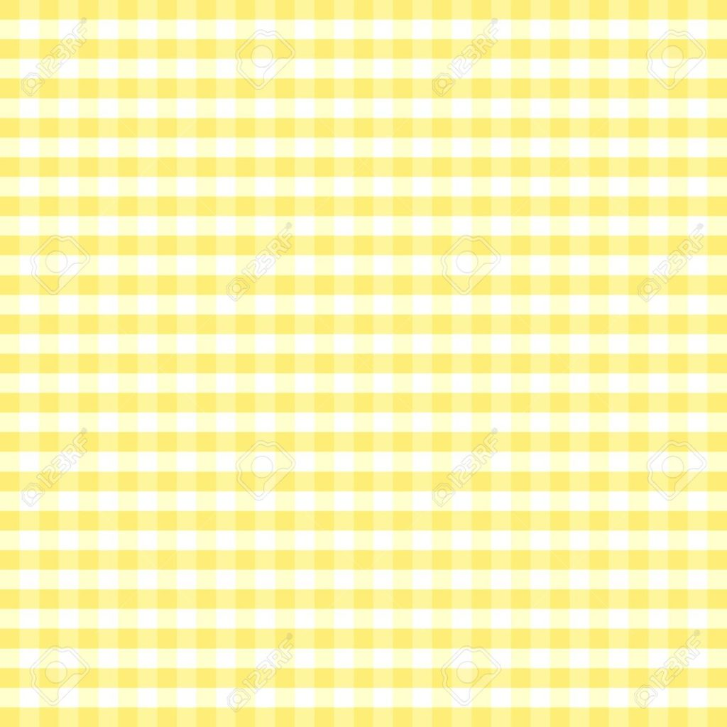 12972645-Seamless-Pattern-Pastel-Yellow-and-white-gingham-check-background--Stock-Vector