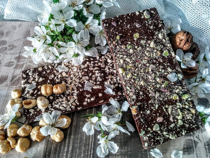 Riciclo cioccolato: tavolette assortite!!!!
