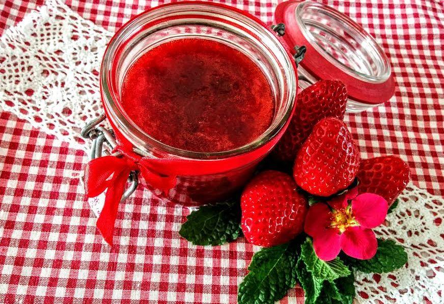 Confettura di fragole & menta