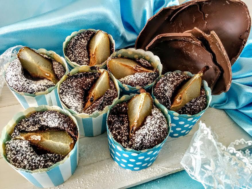 Muffin cioccolato & pere