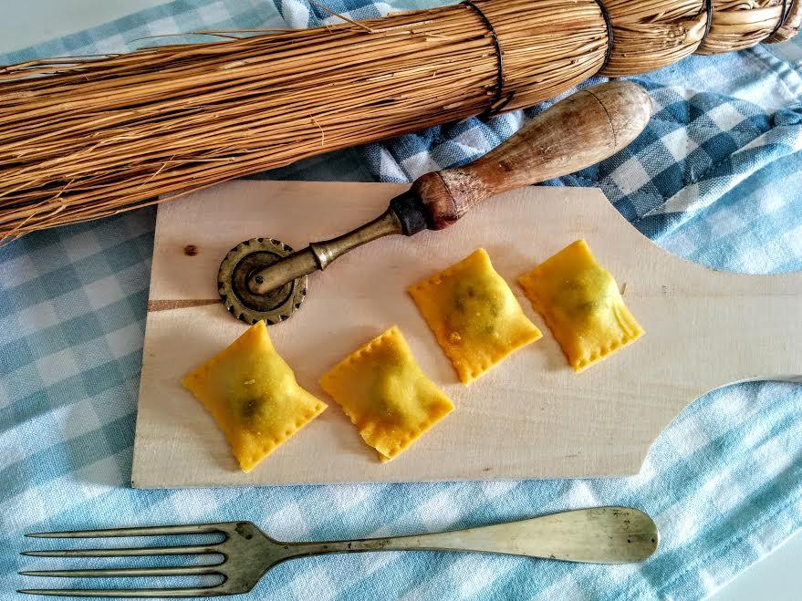 Tortelli ricotta & spinaci
