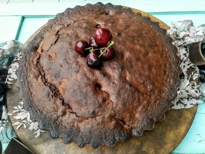 Torta al cioccolato & ciliegie