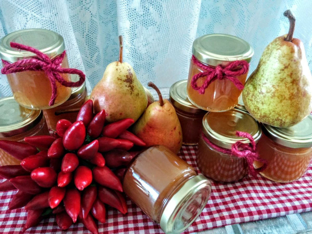 Confettura di pere & peperoncino