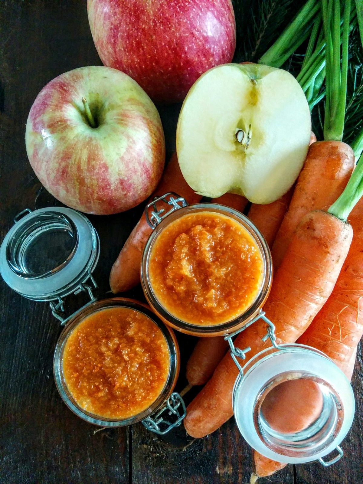 Confettura di mele & carote