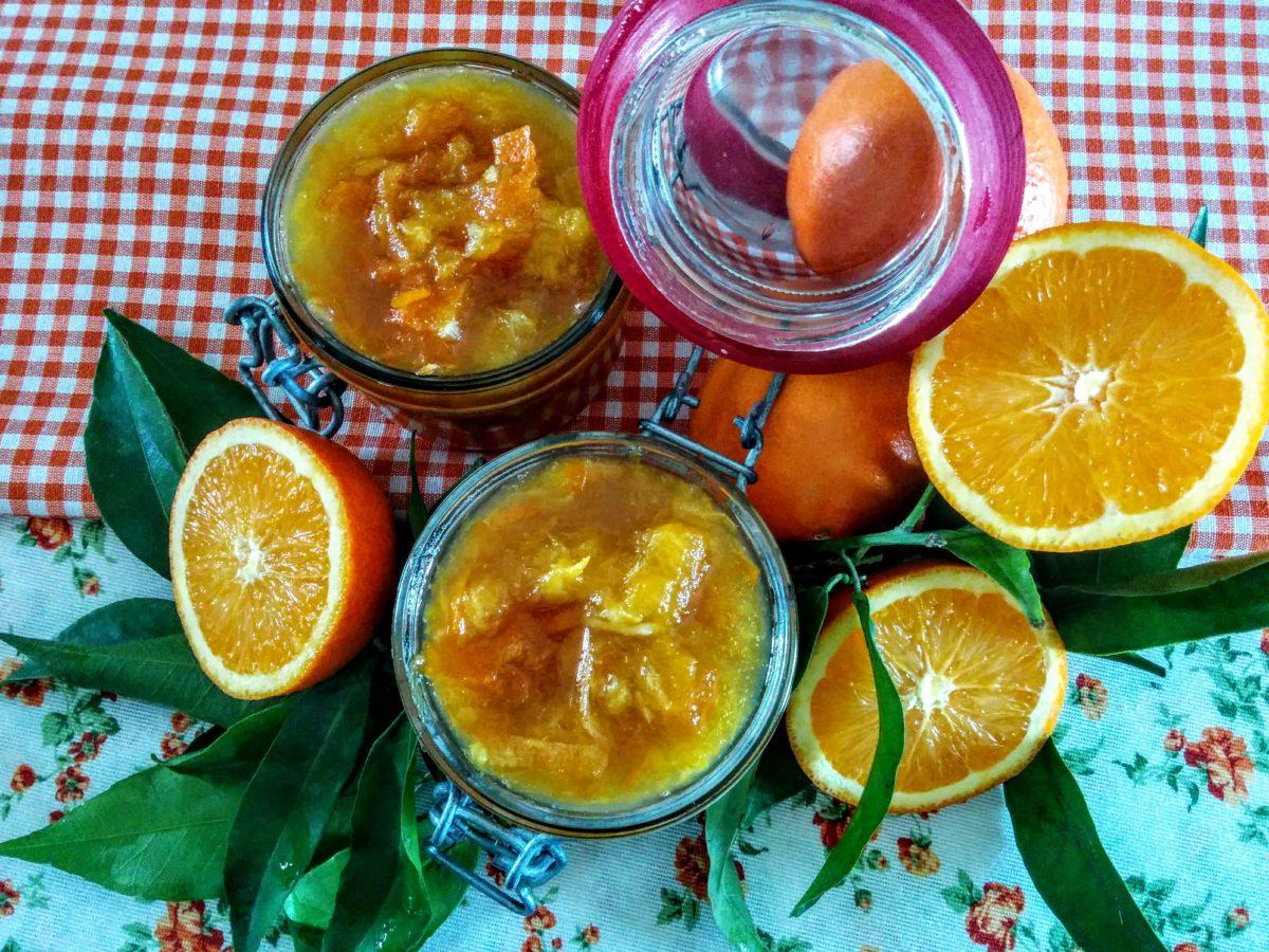 Marmellata di arancia & cannella