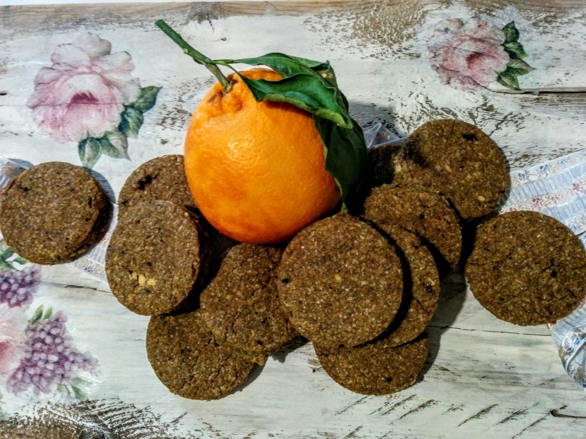Biscotti glutenfree al profumo di arancia & cannella