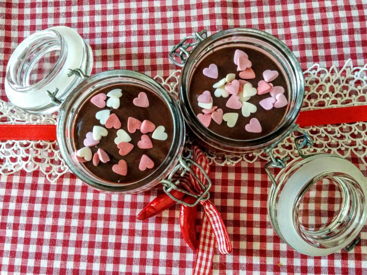 Mousse di cioccolato fondente & peperoncino