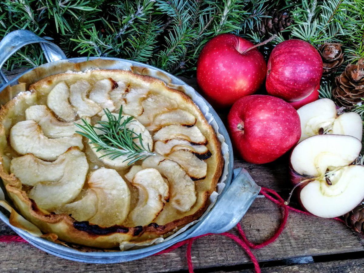 Torta di mele al miele & rosmarino