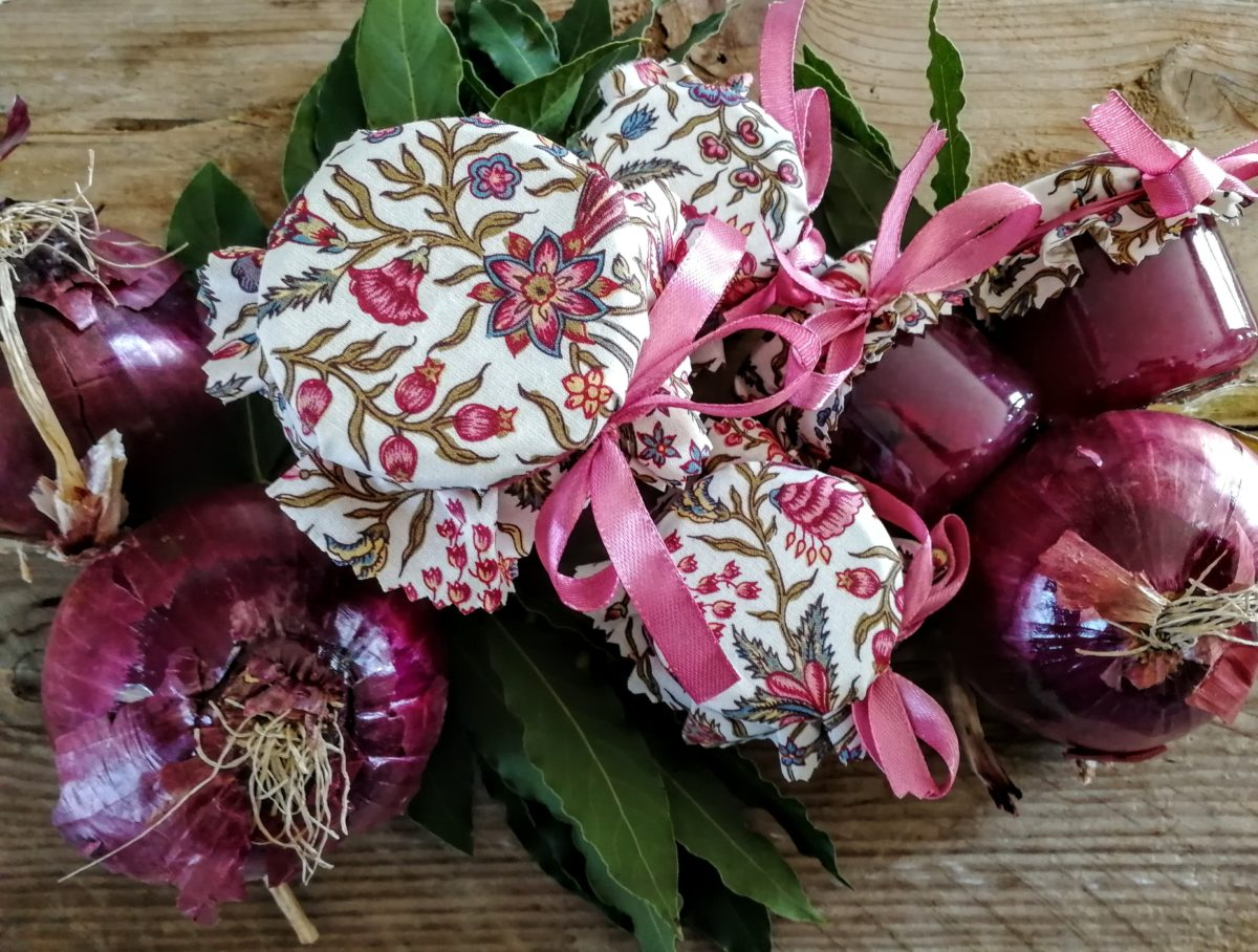 Confettura di cipolle rosse & alloro