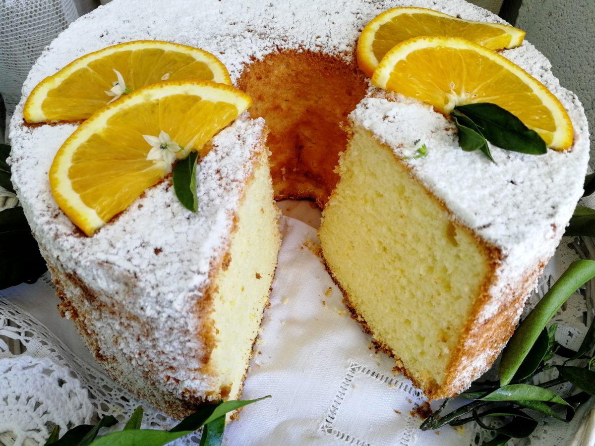 Chiffon Cake all' arancia